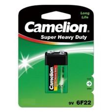 1 x Camelion Super Heavy Duty 9V Block E-Block 6F22  Zink Kohle Batterie