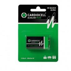 5 x CARDIOCELL 9V-Block 6LR61 Alkaline  Plus im Blister E-Block MN1604