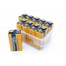 10er-Box bestückt mit Duracell Industrial 9V-Block MN1604