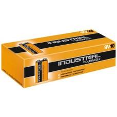 10 x Duracell Industrial 9V Block MN1604 E-Block 6LR22 Batterie - 1 x 10er Box