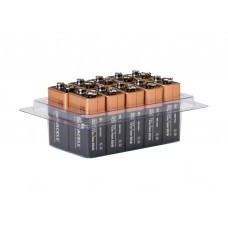 10er-Box bestückt mit Duracell OEM Alkaline 9V-Block MN1604