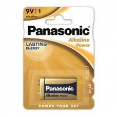 Panasonic 9V-Block Alkaline Power 6LR61 in 1er-Blister