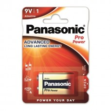 5 x Panasonic Pro Power Alkaline 9V Block E-Block 6LR22 Batterie - Spielzeug