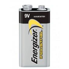 1 x Energizer Industrial 9V Block Alkaline E-Block 6LR22 Batterie - lose