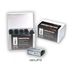 ULTRALIFE  9V Block (U9VL-J-P) Lithium-Mangandioxid in 10er-Box 1200mAh