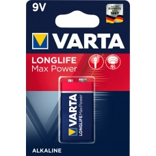 10 x Varta 9V-Block 4722 Longlife Max Power eh. MaxTech Alkaline Rauchmelder