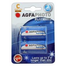AGFAPHOTO Alkaline Platinum Baby LR14 in 2er-Blister