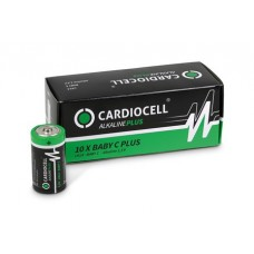 CARDIOCELL Baby PLUS C - LR14 Alkaline in 10er-Box (2er-Folie)