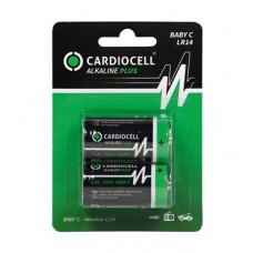 CARDIOCELL Baby PLUS C - LR14 Alkaline in 2er-Blister