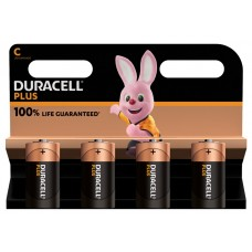 Duracell Baby MN1400 Plus in 4er-Blister *100% LIFE GUARANTEED*