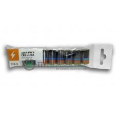 10er-Pack bestückt mit Duracell CR2 mit Eurolochstanzung
