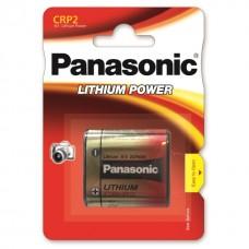 1 x Panasonic CR-P2 - DL223 Lithium Power Photo Batterie 6V im Blister