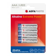 AGFAPHOTO Alkaline PLATINUM Micro AAA LR03 in 4er-Blister