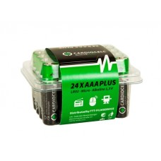 CARDIOCELL Micro PLUS AAA - LR03 Alkaline 24er-Box