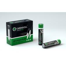 CARDIOCELL Micro PLUS AAA - LR03 Alkaline in 10er-Box (2er-Folie)