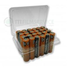 24er-Box bestückt mit Duracell Industrial Micro MN2400