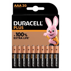 Duracell Micro MN2400 Plus in 20er-Blister *+100% EXTRA LIFE*
