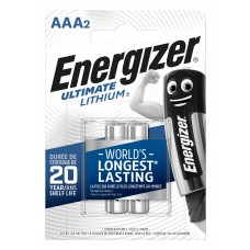 Energizer Micro L92 Ultimate Lithium 1,5V in 2er-Blister