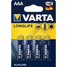 10 x Varta Micro 4103 110 414 LONGLIFE in 4er-Blister -DE-