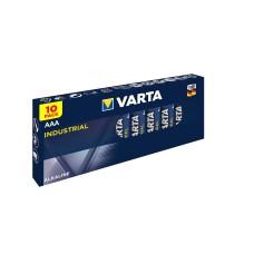 100 x Varta Industrial 4003 AAA LR03 Micro Alkaline Batterie 1,2V