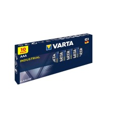 10 x Varta Industrial 4003 AAA LR03 Micro Alkaline Batterie 1,2V