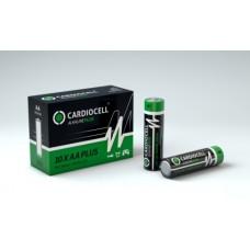 CARDIOCELL Mignon PLUS AA - LR6 Alkaline in 10er-Box (2er-Folie)
