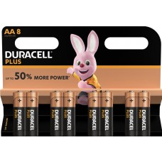 Duracell Mignon MN1500 Plus Power Duralock in 8er-Blister
