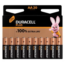 Duracell Mignon MN1500 Plus  in 20er-Blister *+100% EXTRA LIFE*