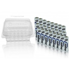 24 x Energizer Ultimate AA Mignon Lithium FR6 L91 1,5V in CardioCell Box