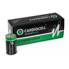 CARDIOCELL Mono PLUS D  - LR20 Alkaline in 10er-Box (2er-Folie)