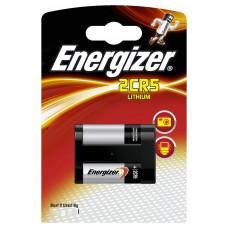 1 x Energizer 2CR5 DL245 2CR5M Lithium Power Photo Batterie 6V im Blister