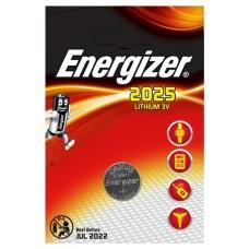 Energizer CR2025 3V Lithium im 1er Blister
