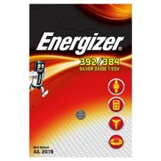 Energizer 392/384 Uhrenbatterie - große Karte in1er-Blister