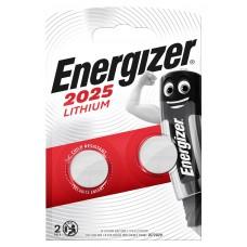 Energizer CR2025 3V Lithium im 2er Blister
