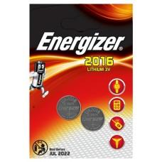 Energizer Spezialbatterie / Lithium CR-Typ 2016 2er Blister