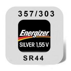 Energizer 357/303/EPX76 Uhrenbatterie in 1er-Blister -große Karte-