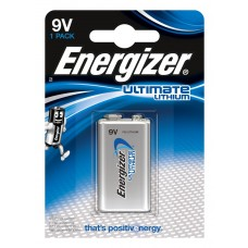 20 x Energizer Ultimate Lithium 9V Block E-Block 6FR22 Batterie - Rauchmelder