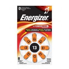 Energizer Hörgerätebatterie Nr. 13 Turn & Lock in 8er Blister