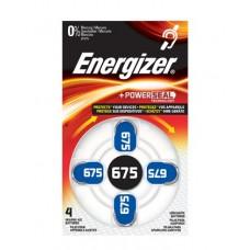 Energizer Hörgerätebatterie Zinc-Air ENR EZ Turn & Lock (675) 4er Blister