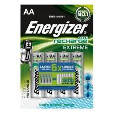Energizer NiMH Akkumulator Extreme, Mignon (AA), 2300 mAh, vorgeladen 4er Blister
