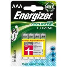 Energizer NiMH Akkumulator Extreme, Micro (AAA) 800 mAh, vorgeladen (STIWA) 4er Blister