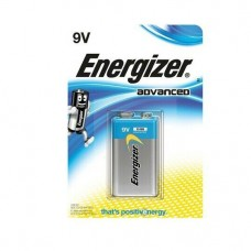 2 x Energizer Advanced  9V Block Alkaline E-Block 6LR22 Batterie - Blister