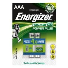 Energizer Micro-Akku Power Plus, (AAA), 700 mAh, vorgeladen im 2er-Blister