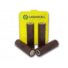4x LG ICR 18650HG2 Li-Ion 3000mAh 20A LGDBHG21865 inkl. Cardiocell Box