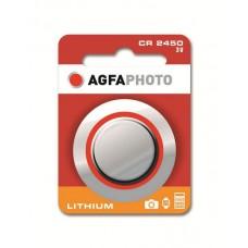 AGFAPHOTO CR2450 3V Lithium im 1er-Blister