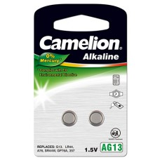 "Camelion AG 13/LR44/LR1154/357 im 2er-Blister ""No Mercury"""