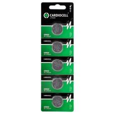 5x CARDIOCELL CR2032 3V Lithium 210mAh im Blister