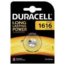 Duracell DL1616 3V Lithium in 1er-Blister (groß)