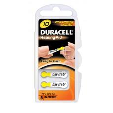 Duracell DA10 (ZL4) Hörgeräte-Knopfzellen Easy Tab 1,4V