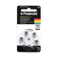 Polaroid Medical+ 10 Hörgeräte-Knopfzellen 100 mAh 1,45V